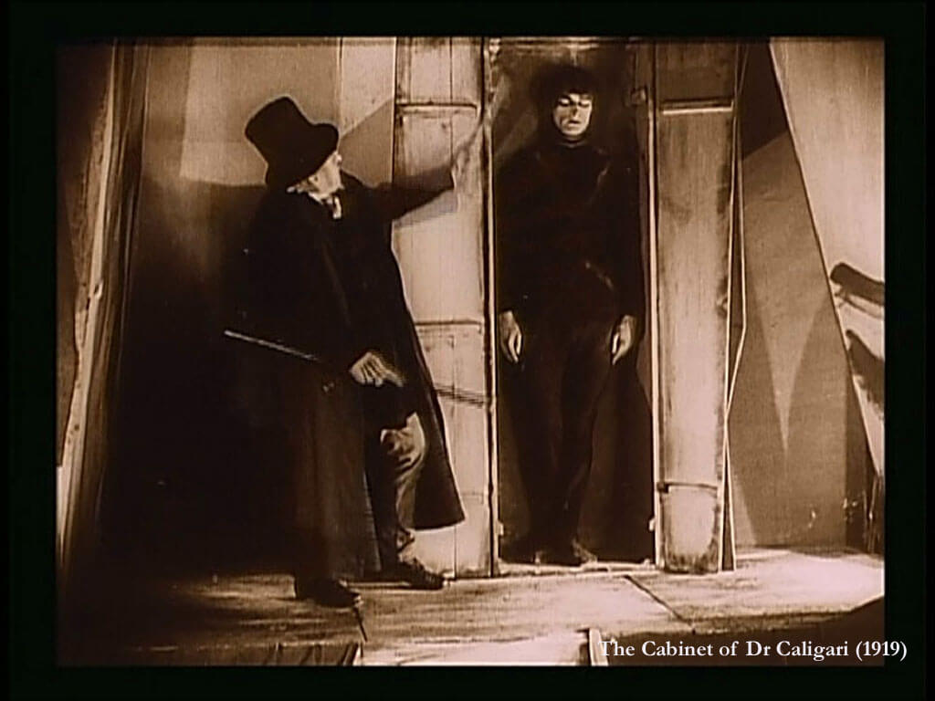 an analysis of the film the cabinet of dr caligari