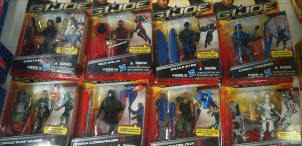The G.I. Joe: Retaliation figures are hitting Walmarts… but the movie will be delayed!