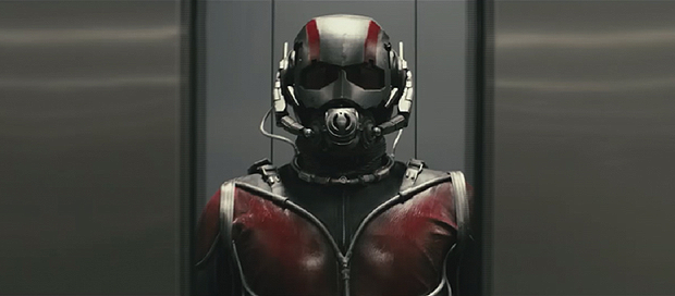 A video has been circulating with a quick clip of the Ant-Man test footage from Edgar Wright, and here are grabs of that!