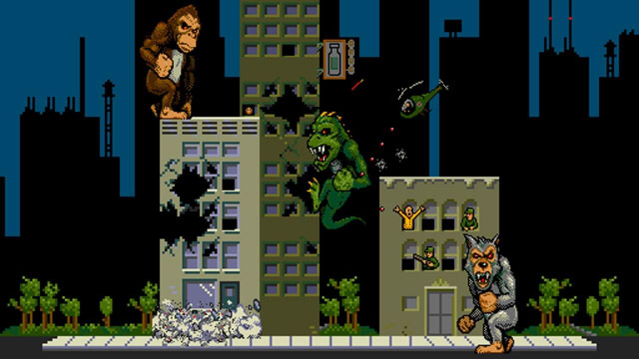 Rampage Arcade Game 10 Minutes From Hell